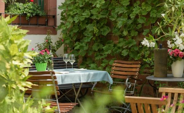 Stadtvilla Neustadt - Stadtgärtchen Sitzplatz 1
