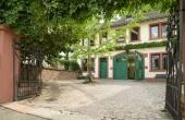 Stadtvilla Neustadt - Parkhof - hinter dem Haus Hohenzollern-Str.