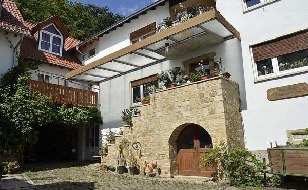 Außenansicht Haus Vroni, Weindorf Königsbach, Neustadt / Weinstr. (Pfalz)