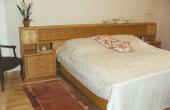 Schlafzimmer mit Doppelbett - Ferienwohnung Diana, Weindorf Lachen-Speyerdorf, Neustadt / Weinstraße (Pfalz)