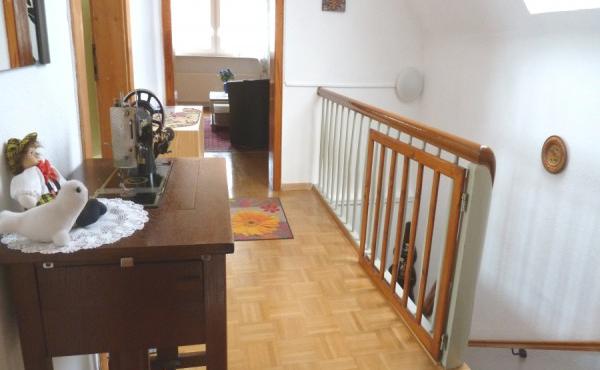 Flur mit Aufgang zur Ferienwohnung Haus am Weinberg, Mußbach - Neustadt / Weinstr. (Pfalz)