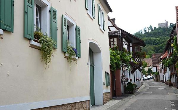 Haus am Schlossberg am Fuße des Hambacher Schlosses, Fewo Schlossbergblick - Haus am Schlossberg, Neustadt / Weinstr., Weindorf Hambach