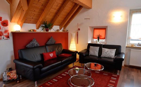 lichtdurchfluteter Wohnbereich - Haus Stachel, Apartment Dorsa, Neustadt / Weinstr., Weindorf Hambach