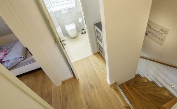 WC oben