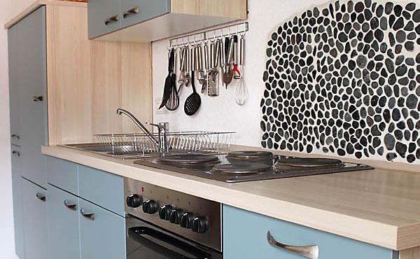 Moderne Einbauküche, komplett ausgestattet, Ferienwohnung Mandelblüte - Urlaubsdomizil Haardter Sonne, Neustadt / Weinstr. (Pfalz)