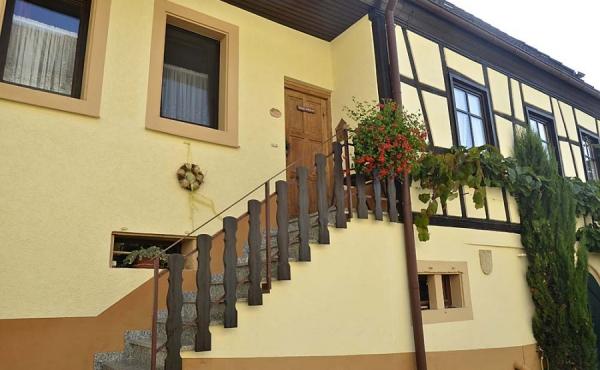 Gebäudeabschnitt mit Apartment Silvaner, Ferienhaus Winzerhof