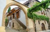 Eingang zum Ferienhaus - Ferienwohnung Idig, Weingut Thomas Steigelmann, Gimmeldingen (Pfalz), Neustadt / Weinstr.