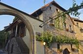 Außenansicht des Ferienhauses mit drei Ferienwohnungen - Weingut Thomas Steigelmann, Gimmeldingen (Pfalz), Neustadt / Weinstr.