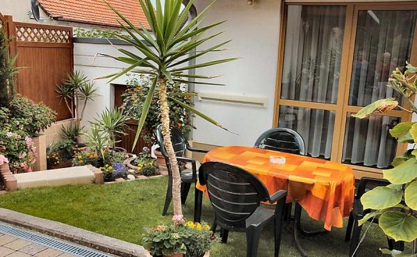 Freisitz mit Waldausblick - Haus am Fürstenweg - Ferienwohnung, Weindorf Gimmeldingen, Neustadt / Weinstr. (Pfalz)