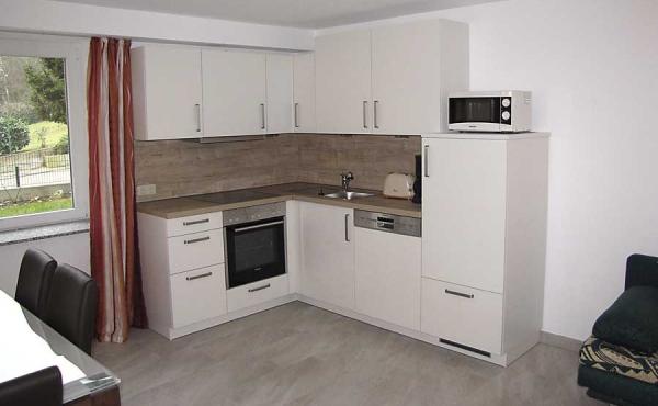 Küchenzeile - Ferienwohnung Haus Biengarten, Weindorf Gimmeldingen, Neustadt / Weinstr. (Pfalz)