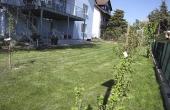 Terrasse und Garten - Ferienwohnung Haus Biengarten, Weindorf Gimmeldingen, Neustadt / Weinstr. (Pfalz)