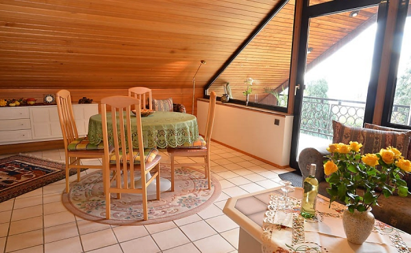 Wohn-Essbereich - Ferienwohnung Haus Rebland, Weindorf Gimmeldingen / Königsbach, Neustadt / Weinstr. (Pfalz)