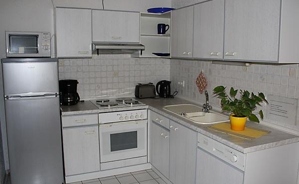 Küche - Ferienwohnung im EG, Haus Storck, Weindorf Gimmeldingen, Neustadt / Weinstr. (Pfalz)