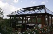 Terasse - Ferienwohnung im EG, Haus Storck, Weindorf Gimmeldingen, Neustadt / Weinstr. (Pfalz)