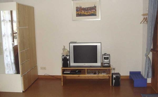 TV, CD- und DVD-Spieler - Ferienwohnung Barrique, Neustadt / Weinstraße (Pfalz)