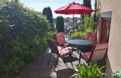 Ferienwohnung Pinie - Terrasse