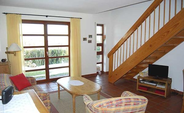 Wohn-/Essraum - Ferienwohnung Haus Kaiser, Neustadt / Weinstr. (Pfalz)